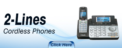 VTECH 2 Lines Cordless Phones