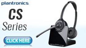 Plantronics CS Series Headset