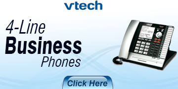 VTECH 4 Line Business Phones