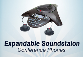 Polycom Expandable SoundStation Conference Phones