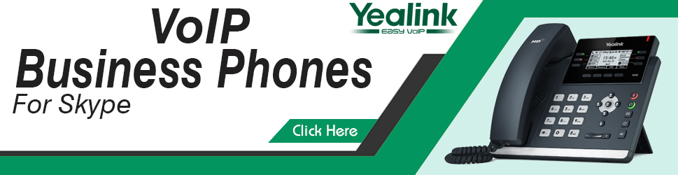 Yealink VOIP Business Phones For Skype