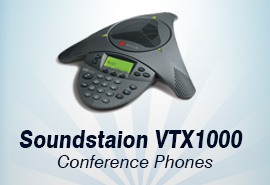 Polycom SoundStation VTX 1000 Conferencing Phones