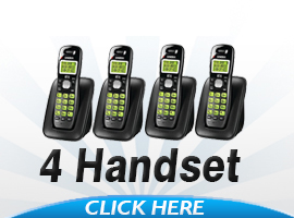 Uniden Cordless Phones With 4 Handsets