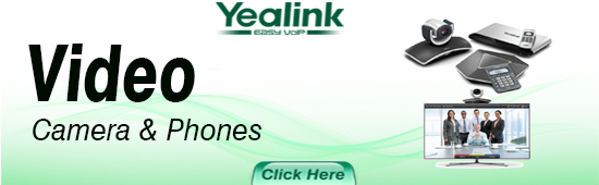 Yealink Video Conferencing Camera And Phones