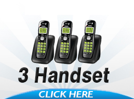 Uniden Cordless Phones With 3 Handsets