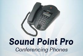 Polycom SoundPoint Pro Conferencing Phones