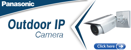 Pansonic Outdoor IP Camera