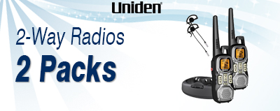 Uniden Two Way Radio 2 Packs