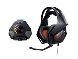 ASUS STRIX DSP Gaming headset 60mm neodymium-magnet drivers For PC Mac PS4