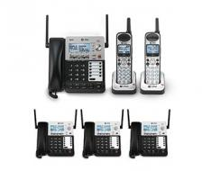 AT T SB67138 Corded Cordless Office Bundle
