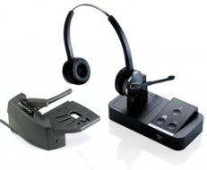 Jabra Pro 9450 Duo Wireless Headset With Lifter
