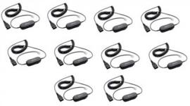 Jabra GN1200 QD Smart Cord 7 Coiled 10pk