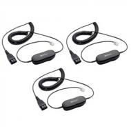 Jabra GN1200 QD Smart Cord 7 Coiled 3pk
