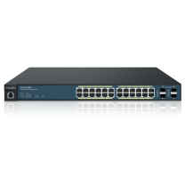 Neutron EWS 24-Port Managed Gigabit 370W PoE+ Switch