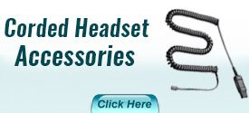 Corded Headset Accessories