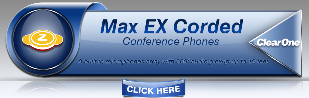 Clearone MAX EX Corded Conference Phones