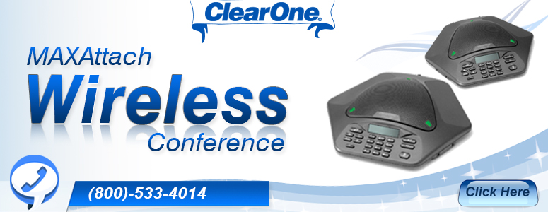 Clearone MAXAttach Wireless Conference Phones