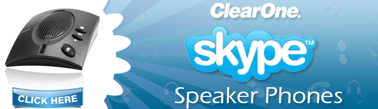 Clearone Skype Speakerphones