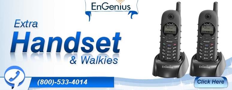 Engenius Extra Handsets & Walkies