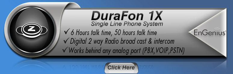 DuraFon 1X - Single-Line Engenius Phone System