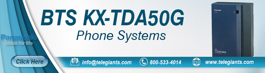 Panasonic BTS KX-TDA50G Digital Business Phone Systems