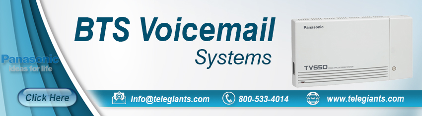 Panasonic BTS Voicemail Systems
