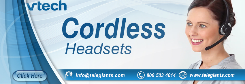 Cordless Headsets for VTech Phones