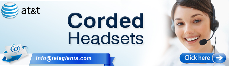 AT&T Corded Headsets