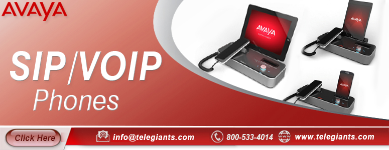 Avaya SIP/VOIP Phones