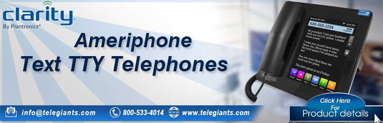 Clarity Ameriphone Text Telephones TTY Phones