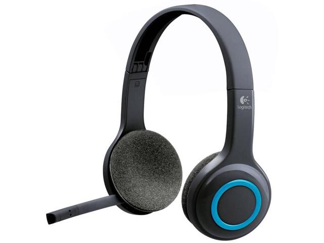 981-000341 H600 Wireless Headset Over-The-Head Design