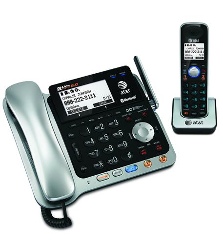 AT&T-TL86109 2-line Corded/Cordless with ITADATT Caller ID PhonesAT&T Phones