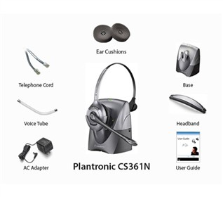 Plantronics AWH460N with Lifter (Discontinued)Plantronics Wireless HeadsetsPlantronics
