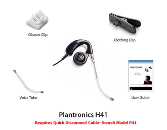 Plantronics Mirage H41Plantronics Corded HeadsetsPlantronics