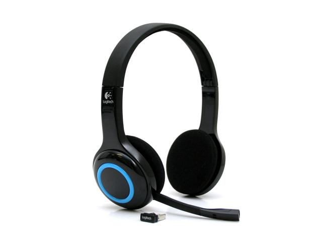 New Logitech Wireless Headset H600 Over-The-Head Design Logitech HeadsetsLogitech