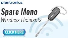 Spare Mono Wireless Headset