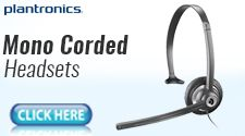 Mono Corded Headset