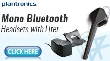 Mono Bluetooth Headset with Lifter