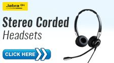 Stereo Corded Headset