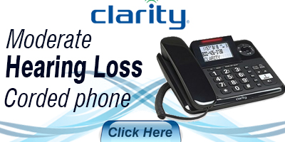 Moderate Hearing Loss Corded Phone