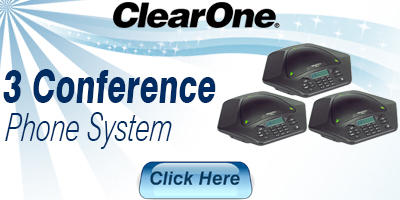 3 Conference Phone System