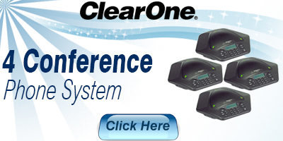 4 Conference Phone System