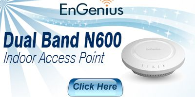 Dual Band N600 Indoor Access Point