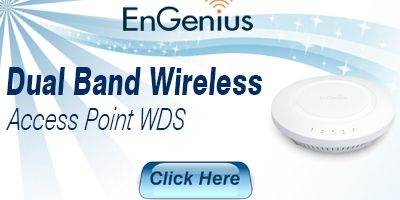 Dual Band Wireless Access Point WDS