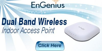 Dual Band Wireless Managed Indoor Access Point