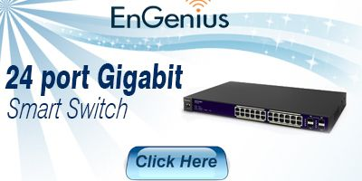 24 Port Gigabit Smart Switch