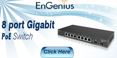 8 Port Gigabit Smart PoE Switch