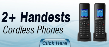 2 Plus Handset Cordless phones