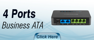 4 Port Small Business ATA