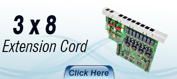 3 X 8 Expansion Card